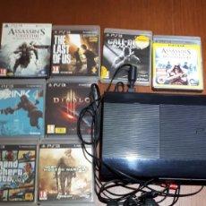 Videojuegos y Consolas: CONSOLA PS3 SONY CON JUEGOS. Lote 210480936