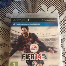 Videojuegos y Consolas: FIFA 14 JUEGO PS3 COMPLETO PORTADA MESSI BARCELONA. Lote 210525371