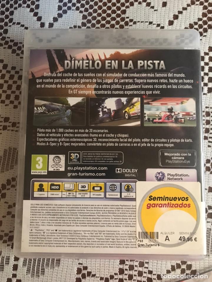 Videojuegos y Consolas: Gran turismo 5 juego PS3 completo - Foto 2 - 210525521