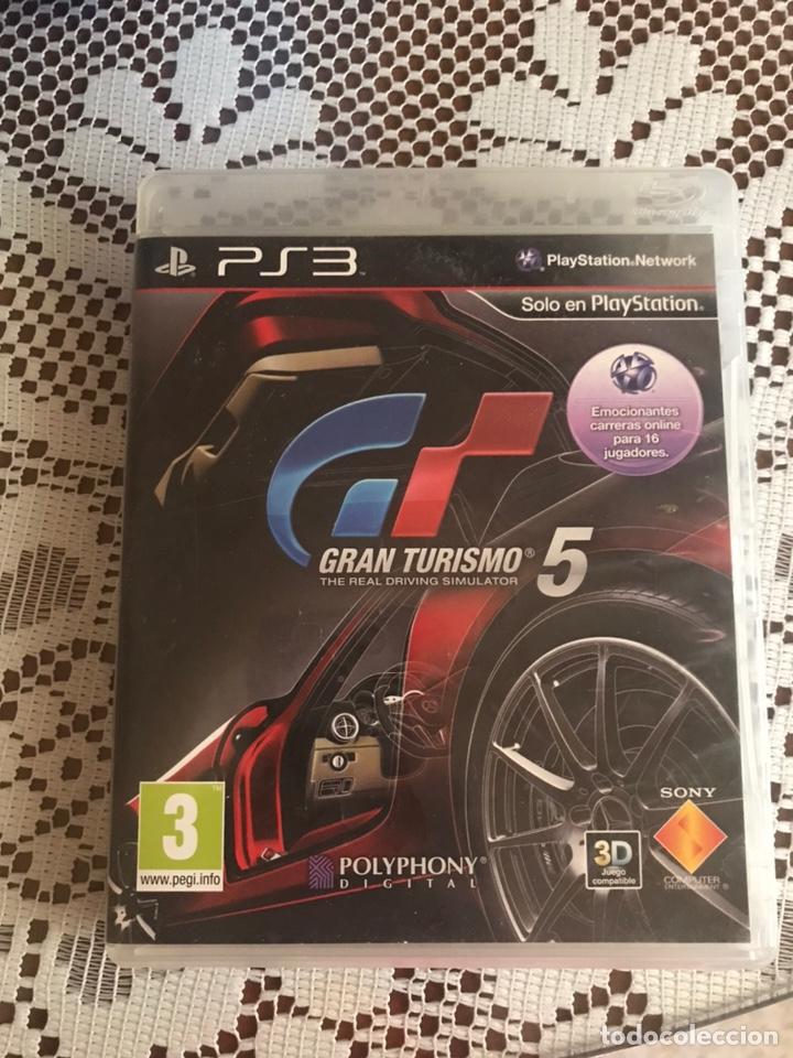 GRAN TURISMO 5 JUEGO PS3 COMPLETO (Juguetes - Videojuegos y Consolas - Sony - PS3)