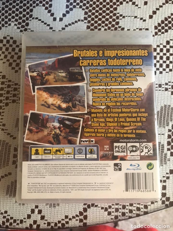 Videojuegos y Consolas: Motorstorm juego PS3 completo - Foto 2 - 210525635