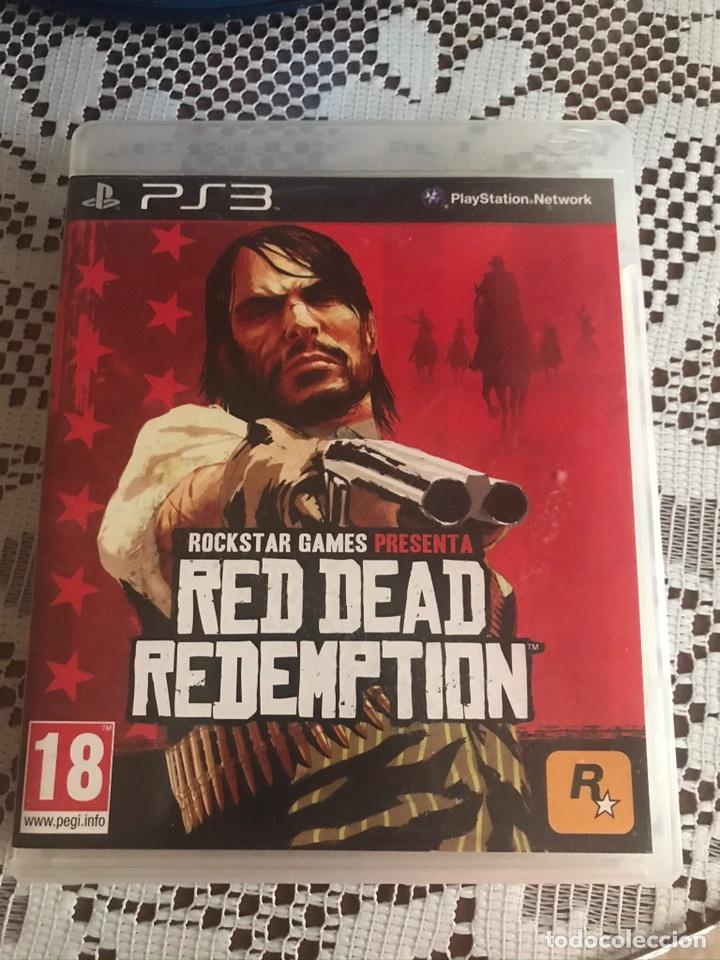 RED DEAD REDEMPTION JUEGO PS3 COMPLETO (Juguetes - Videojuegos y Consolas - Sony - PS3)
