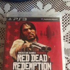 Videojuegos y Consolas: RED DEAD REDEMPTION JUEGO PS3 COMPLETO. Lote 210527761