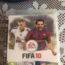 Videojuegos y Consolas: FIFA 10 JUEGO PS3 COMPLETO. Lote 210527837