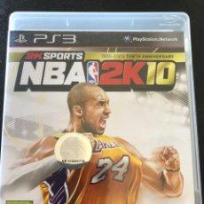 Videojuegos y Consolas: JUEGO PS3 NBA 2K10. Lote 210555662