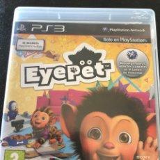 Videojuegos y Consolas: JUEGO PS3 EYEPET. Lote 210556097