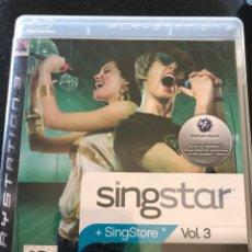 Videojuegos y Consolas: JUEGO SINGSTAR VOLUMEN 3. Lote 210556401