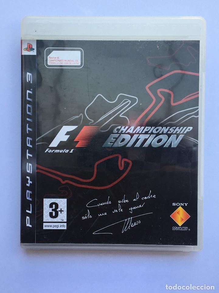 F1 CHAMPIONS EDITION + F1 2010 (Juguetes - Videojuegos y Consolas - Sony - PS3)