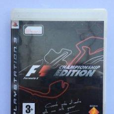 Videojuegos y Consolas: F1 CHAMPIONS EDITION + F1 2010. Lote 210637348