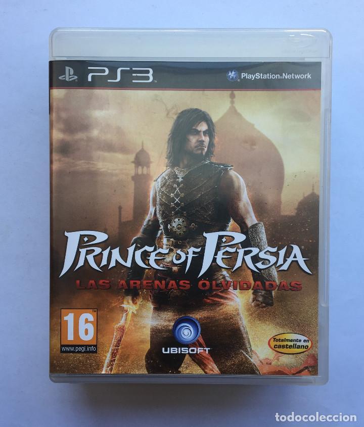 PRINCE OF PERSIA LAS ARENAS OLVIDADAS PS3 (Juguetes - Videojuegos y Consolas - Sony - PS3)