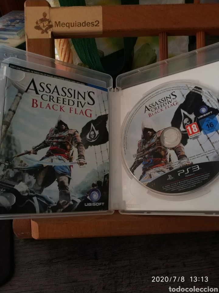Videojuegos y Consolas: ASSASSINS CREED IV BLACK FLAG (completo) - Foto 3 - 210736534