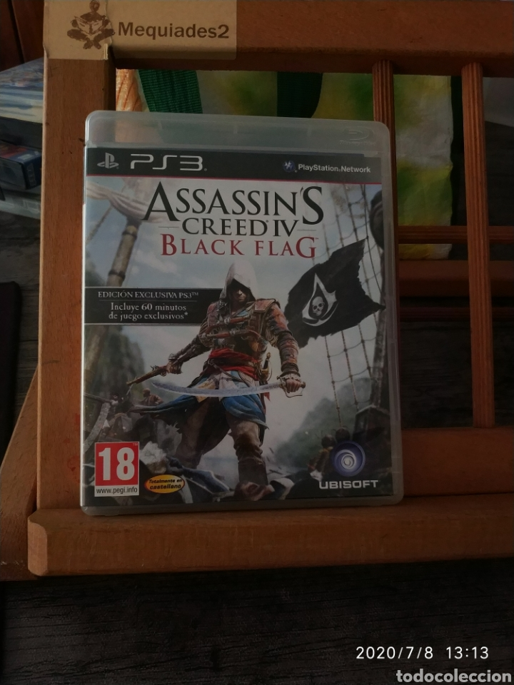 ASSASSIN'S CREED IV BLACK FLAG (COMPLETO) (Juguetes - Videojuegos y Consolas - Sony - PS3)