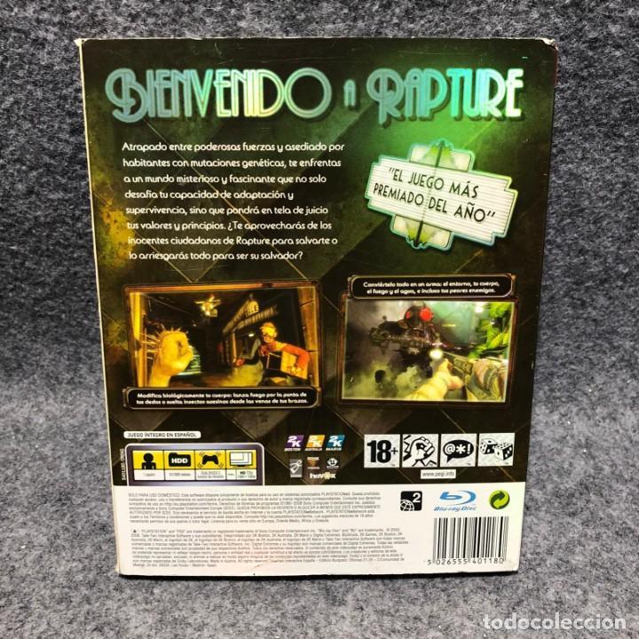 Videojuegos y Consolas: BIOSHOCK+CAJA DE CARTON SONY PLAYSTATION 3 PS3 - Foto 2 - 210756702