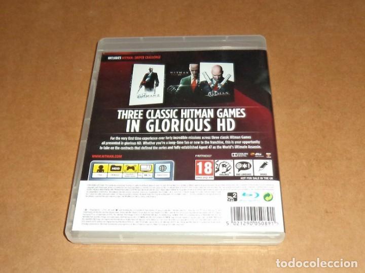 Videojuegos y Consolas: Hitman : HD Trilogy completo para Sony Playstation 3 / PS3 , Pal - Foto 2 - 210978489