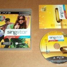 Videojuegos y Consolas: SINGSTAR : PORTUGAL HITS , COMPLETO PARA SONY PLAYSTATION 3 / PS 3 , PAL. Lote 210978567