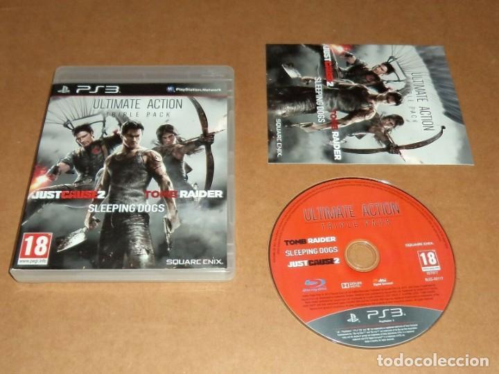 ULTIMATE ACTION TRIPLE PACK , PARA SONY PLAYSTATION 3 / PS 3 , PAL (Juguetes - Videojuegos y Consolas - Sony - PS3)