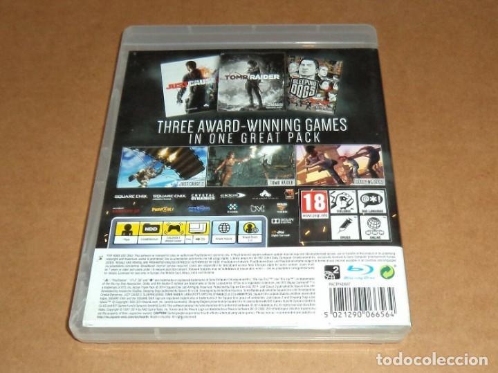 Videojuegos y Consolas: Ultimate Action Triple Pack , para Sony Playstation 3 / PS 3 , Pal - Foto 2 - 210978585