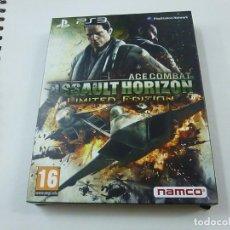 Videojuegos y Consolas: ASSAULT HORIZON - LIMITED EDITION - PS3 - EDICION ESPAÑOLA - N. Lote 211423476