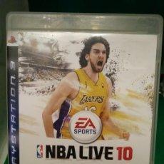 Videojuegos y Consolas: NBA LIVE 10 2010 - JUEGO PAL ESPAÑA PLAYSTATION 3 PS3 -. Lote 211591557