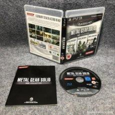 Videojuegos y Consolas: METAL GEAR SOLID HD COLLECTION SONY PLAYSTATION 3 PS3. Lote 211610875