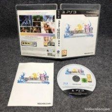 Videojuegos y Consolas: FINAL FANTASY X X2 HD REMASTER SONY PLAYSTATION 3 PS3. Lote 211610881