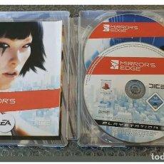 Videojuegos y Consolas: MIRROR EDGE STEELBOOK PLAY 3 CONTIENE LOS 2 DISCOS!DESCATALOGADO. Lote 211611839