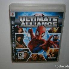 Videojuegos y Consolas: MARVEL ULTIMATE ALLIANCE PS3. Lote 211634532