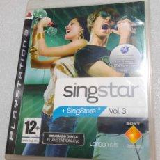 Videojuegos y Consolas: SINGSTAR VOLUMEN 3. PS3. Lote 211669744