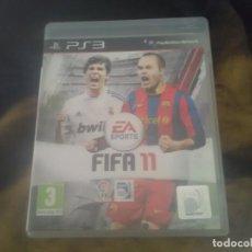 Videojuegos y Consolas: JUEGOS PLAYSTATION 3 , FIFA 11. Lote 212000703