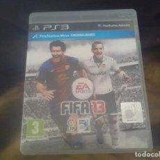 Videojuegos y Consolas: JUEGOS PLAYSTATION 3 , FIFA 13. Lote 212000836