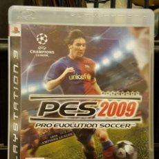 Videojuegos y Consolas: PES 2009 PRO EVOLUTION SOCCER + INSTRUCCIONES EN ESPAÑOL. Lote 213714576