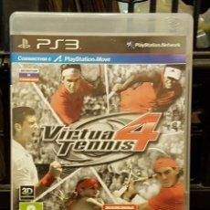 Videojuegos y Consolas: VIRTUA 4 TENNIS + FOLLETO. Lote 213715096