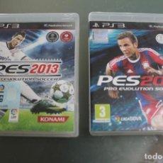 Videojuegos y Consolas: LOTE 2 JUEGOS PS3 PES2013 PES2015. Lote 213739873