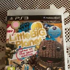 Videojuegos y Consolas: JUEGO PS3 LITTLE BIG PLANET EDICIÓN JUEGO DEL AÑO. Lote 213828877