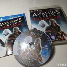 Videojuegos y Consolas: ASSASSIN´S CREED REVELATIONS ( PS3- PLAYSTATION 3 - PAL - ESP). Lote 213927656