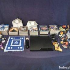 Videojuegos y Consolas: SONY PLAYSTATION 3 SLIM 160 GB + 34 JUEGOS + MANDO PERSONALIZADO. Lote 214634832