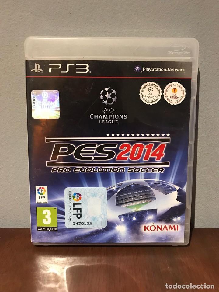 PES 2014 PRO EVOLUTION SOCCER 14 KONAMI PS3 PLAYSTATION 3 PLAY STATION 3 KREATEN (Juguetes - Videojuegos y Consolas - Sony - PS3)
