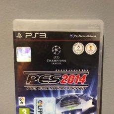 Videojuegos y Consolas: PES 2014 PRO EVOLUTION SOCCER 14 KONAMI PS3 PLAYSTATION 3 PLAY STATION 3 KREATEN. Lote 214676517