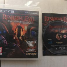 Jeux Vidéo et Consoles: RESIDENT EVIL OPERATION RACOON CITY PS3 PLAYSTATION 3 PLAY STATION 3 KREATEN. Lote 214739530