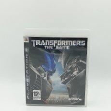Videojuegos y Consolas: TRANSFORMERS THE GAME PS3. Lote 295398008