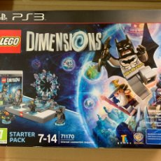 Videojuegos y Consolas: PS3 LEGO DIMENSIONS STARTER PACK. Lote 214908630