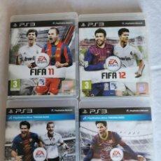 Videojuegos y Consolas: PLAYSTATION PS3 FIFA 11 -12 13 -14. Lote 214936040