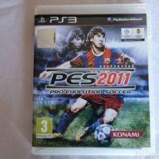 Videojuegos y Consolas: PLAYSTATION PS3 PES 2011. Lote 214936380