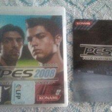 Videojuegos y Consolas: PES 2008 PS3 KONAMI PLAYSTATION 3. Lote 215599942