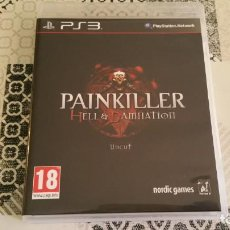 Videojuegos y Consolas: PAINKILLER HELL DAMNATION UNCUT PS3 PAL ESPAÑA COMPLETO NORDIC GAMES. Lote 215802777