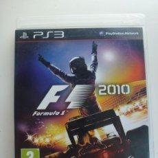 Videojuegos y Consolas: PS3. FÓRMULA 1. F1 2010. Lote 216972392