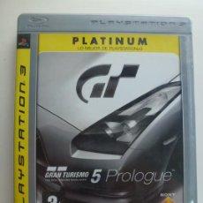 Videojuegos y Consolas: PS3. PLATINUM. GRAN TURISMO 5 PROLOGUE. Lote 216974968