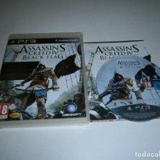 Videojogos e Consolas: ASSASSIN'S CREED IV BLACK FLAG PLAYSTATION 3 PAL ESPAÑA COMPLETO. Lote 217957128