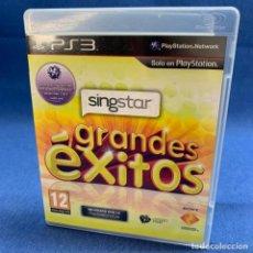 Videojuegos y Consolas: VIDEOJUEGO - PLAYSTATION 3 - PS3 - SINGSTAR GRANDES ÉXITOS + CAJA + INSTRUCCIONES. Lote 218064418