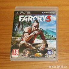 Videojuegos y Consolas: FARCRY 3, JUEGO PLAYSTATION 3 PS3 UBISOFT FAR CRY PAL ESPAÑA COMPLETO. Lote 218073090